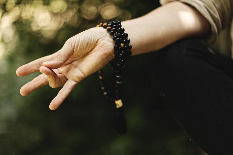 Síla je v meditaci
